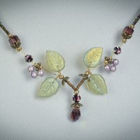 Amethyst Pixie Necklace