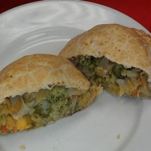 Broccoli Three Cheese Pastie