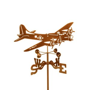 Airplane B-17 Weathervane