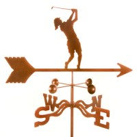Golfer – Female Weathervane