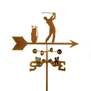 Golfer – Male Weathervane