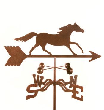 Horse – Running Weathervane