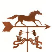 Horse – Running Weathervane