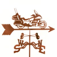 Motorcycle Touring Weathervane