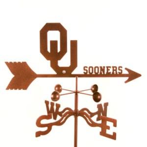 Oklahoma University Weather Vane