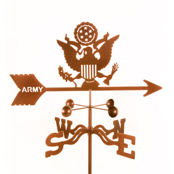 Army Weather Vane | Made In Michigan