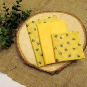 Bubbly Bee Beeswax Food Wrap Set
