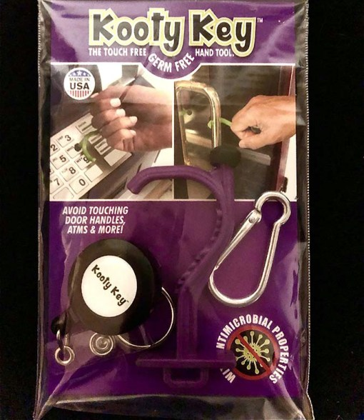 kooty key purple packaged