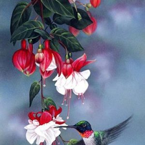 Blossoms Giclee Print on Wrapped Canvas by Artist Russell Cobane