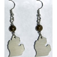 Petoskey Stone Michigan Earrings
