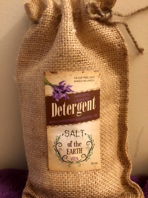 All Natural Lavender Laundry Detergent Salt of the Earth