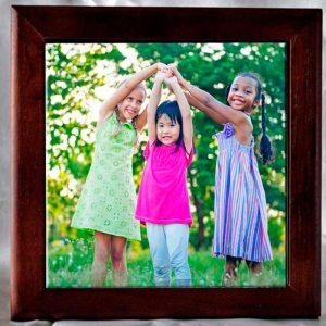 Framed Custom Photo Tile Personalize