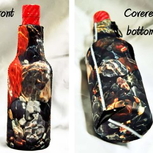 Photo Zipper Bottle Koozies