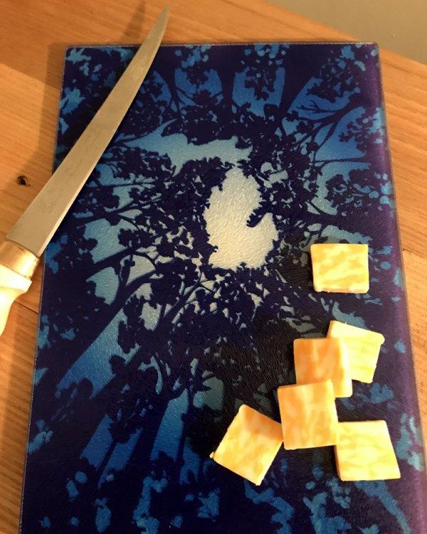Michigan Treetops Cutting Board