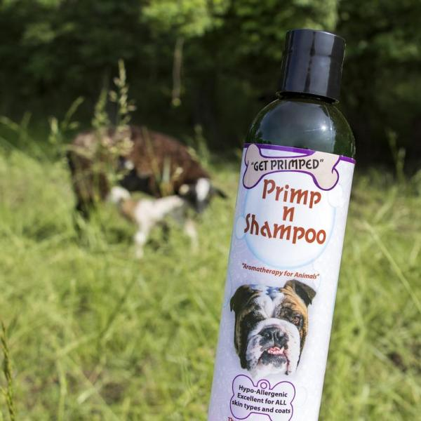 Primp n Shampoo for farm animals