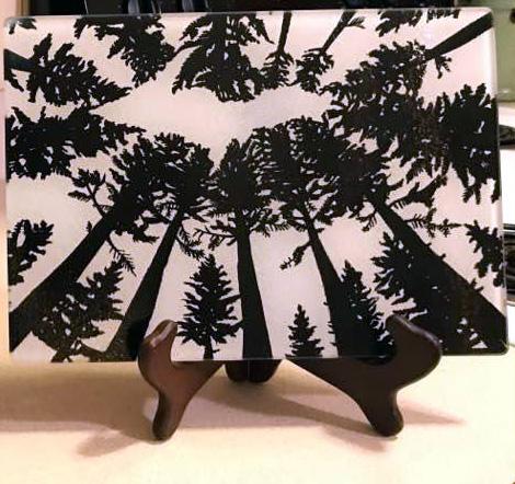 UP Michigan Treetops Cutting Board