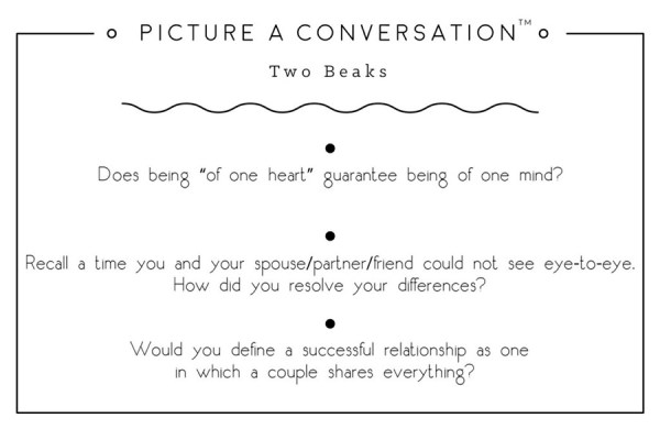 Picture a Conversation Card Game