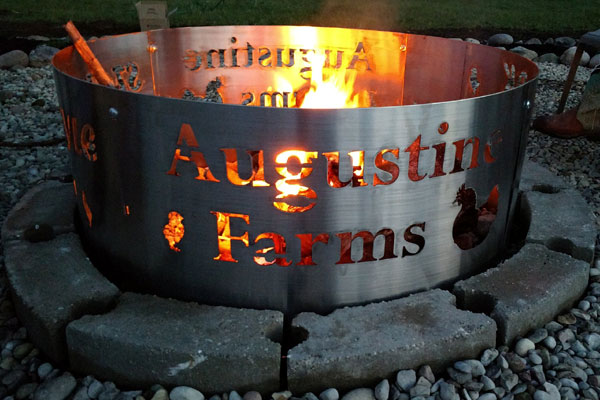 Custom Fire Pit Ring