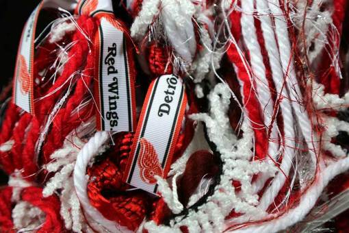Detroit Red Wings Scarf Sports Team Scarves