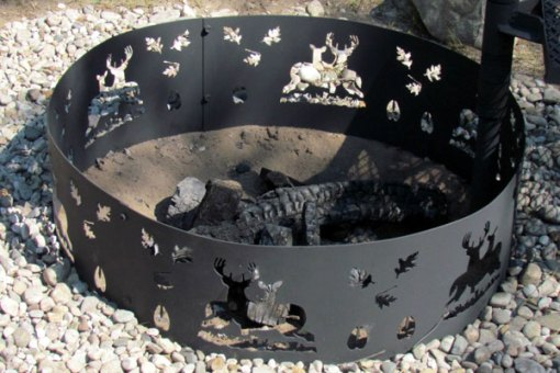 Deer Fire Pit Ring