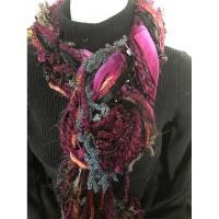 Ribbon Yarn Mulberry Scarf