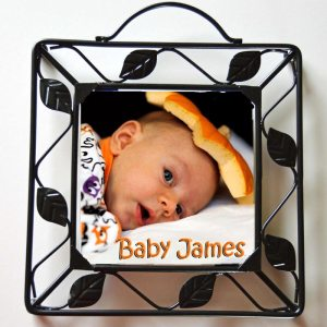 Metal Framed Custom Photo Trivet