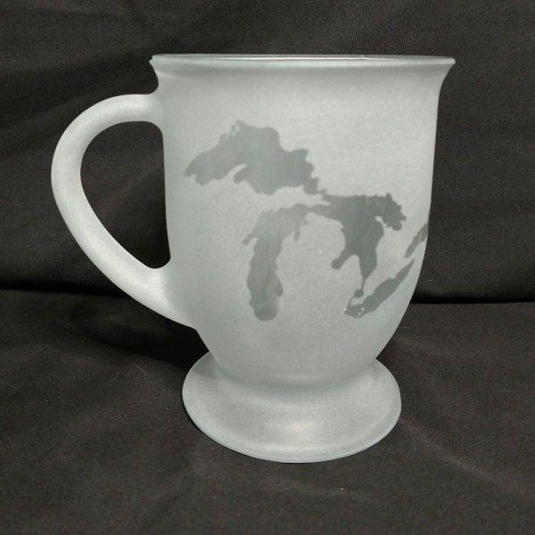 Engraved Coffee Mug Michigan Great Lakes