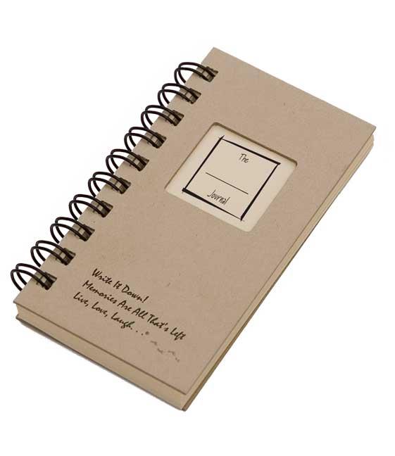 The Blank Mini Journal