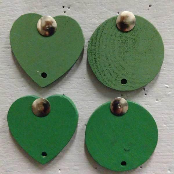 Celebration Board Discs Moss Green & Dark Green