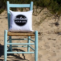 Reclaim Your Life Pillow