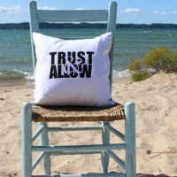 Trust & Allow Pillow