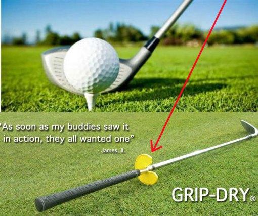 Grip Dry Golf Club Tool