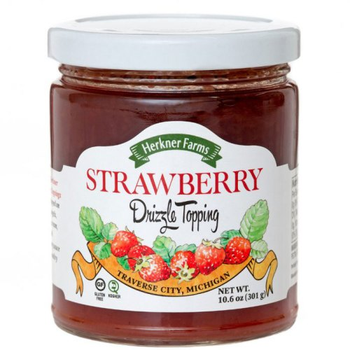 Strawberry Drizzle Topping