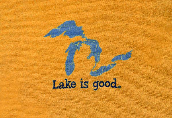 Lake is Good Orange with Great Lakes