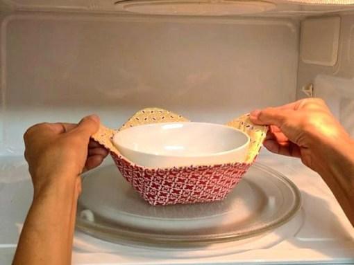 Microwave Bowl Holder Cozy
