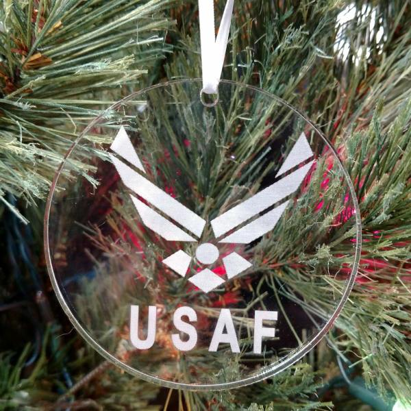 Personalized United States Air Force Ornament