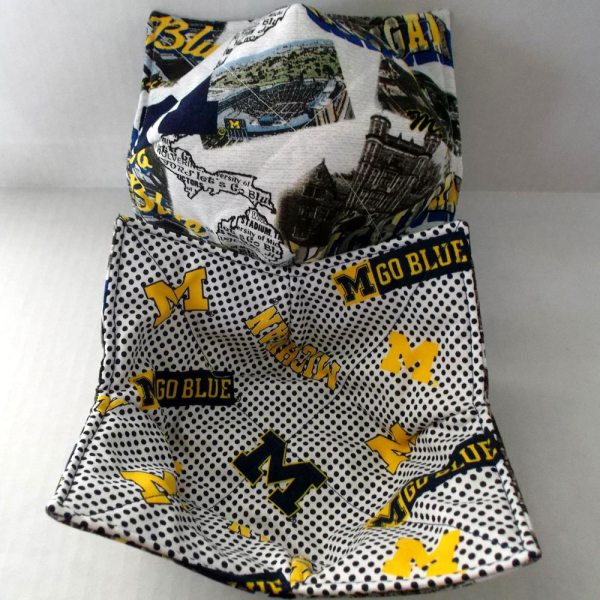 Reversible Michigan Microwave Bowl Cozy