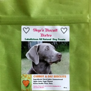 Carrot and Oat Biscuits Dog Treats All Natural Dog Treat