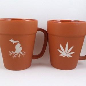 Terracotta Michigan Roots Mug