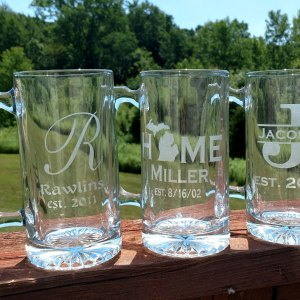 Personalized Beer Stein Mug