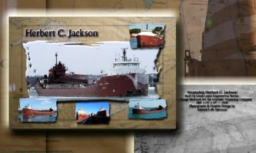 Nautical Postcard Set Herbert C Jackson Ship