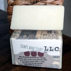 All Natural Michigan Gardens Soap