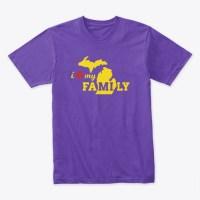I Love my Michigan FAMILY Tshirt