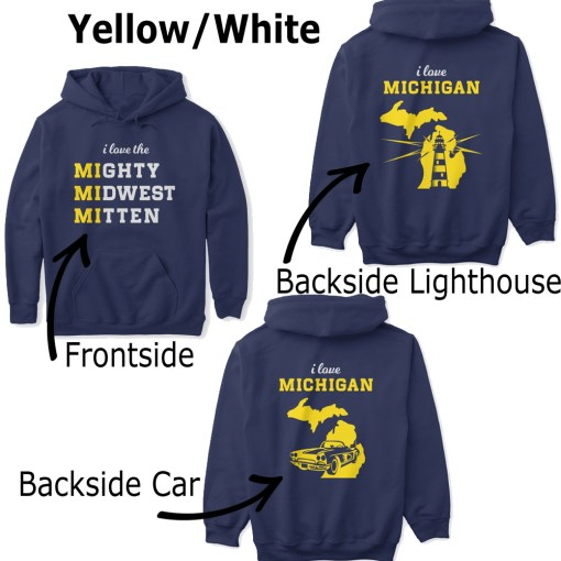 Mighty Midwest Michigan Hoodie