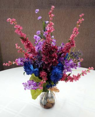 Mixed Wildflowers Silk Floral Arrangement