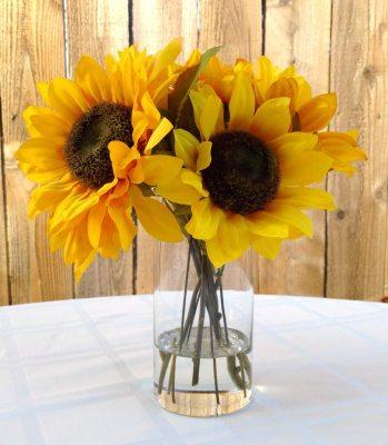 Sunflowers Silk Floral Arrangement