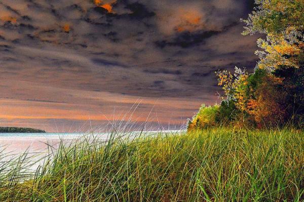 Fall On Lake Superior Art