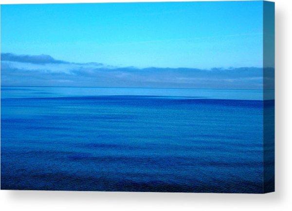 Blue Lake Superior Canvas Print