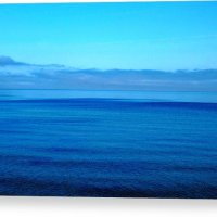 Blue Lake Superior Canvas Print