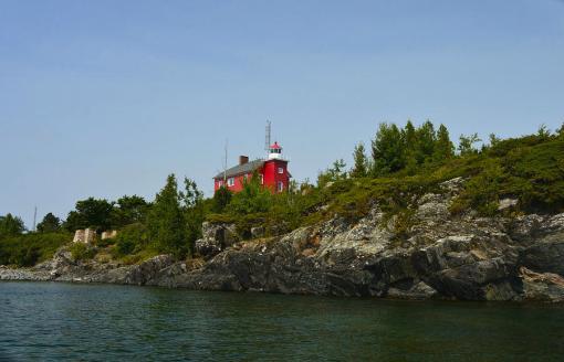 Marquette Michigan Lighthouse Art